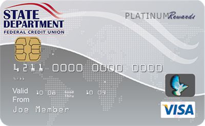 best interest rate state department federal credit union savings secured visa - Visa Secured Credit Card