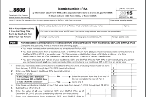 Did You Forget Filing Form 8606 for Nondeductible IRAs?
