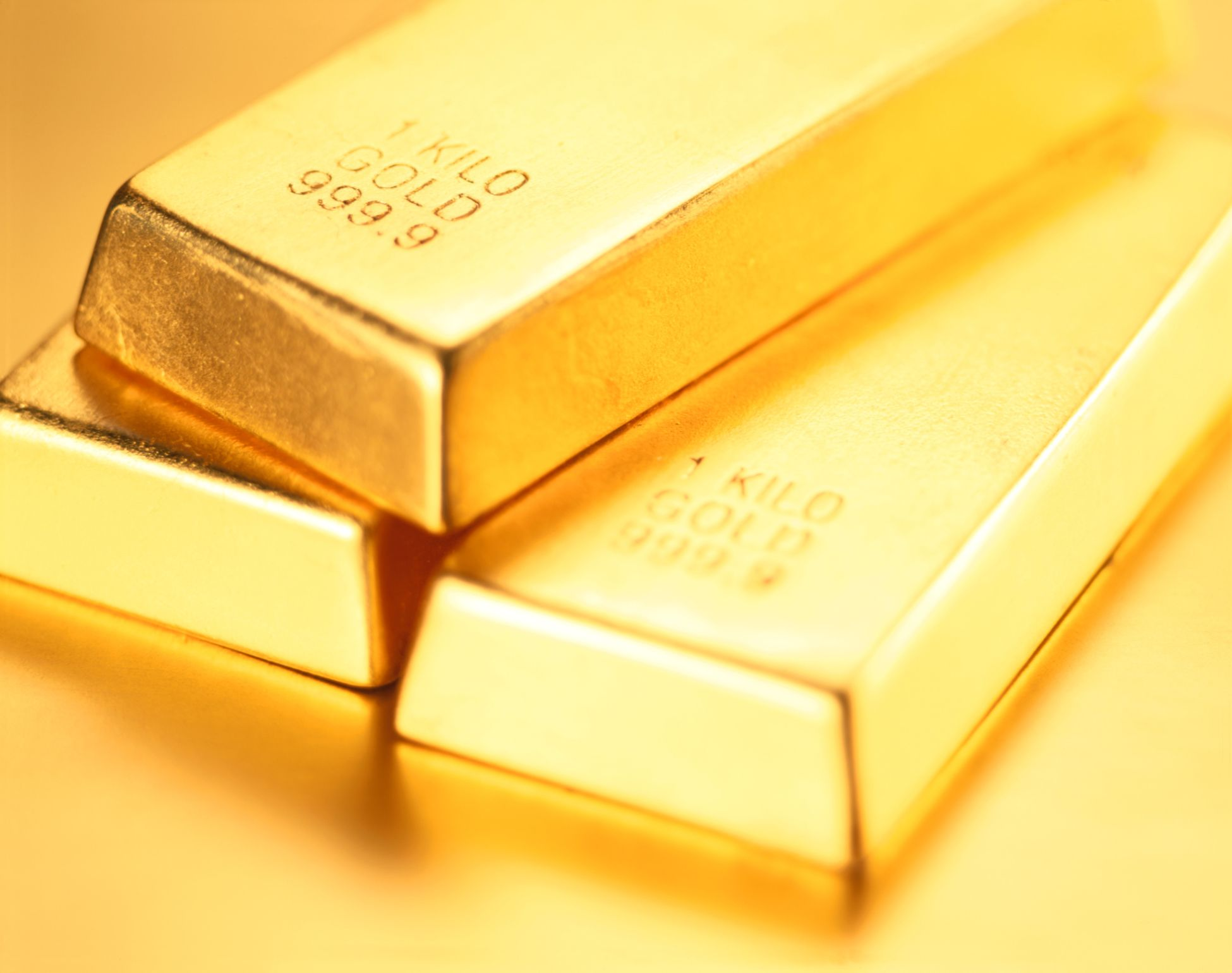 Three coveted gold bars during the asset inflation of gold
