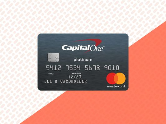 CapOne Secured Mastercard Primary Image