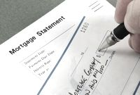 Writing a mortgage payment