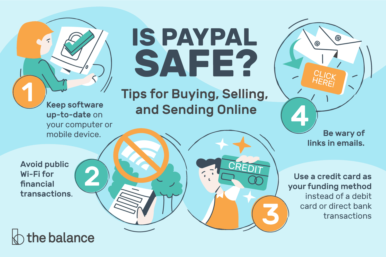 Is Paypal Safe Tips For Buying Selling And Sending Online