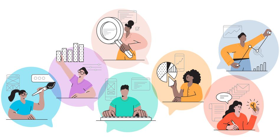 The Balance About Us_Animated People Doing Financial Tasks