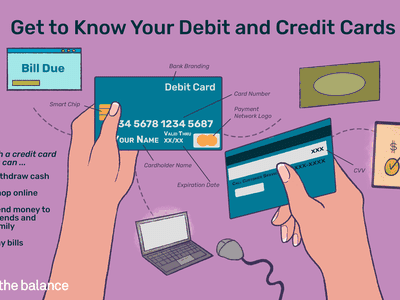 get to know your debit and credit cards