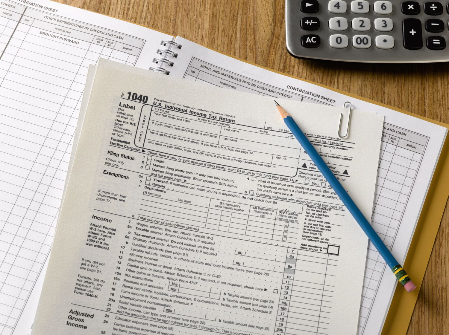 What Forms Do I Need To File My Taxes