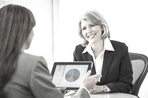 woman financial advisor