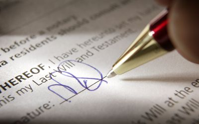 Is Your Last Will And Testament Legally Binding - Will legal document
