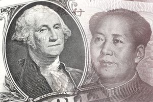 Dollar and Chinese currency