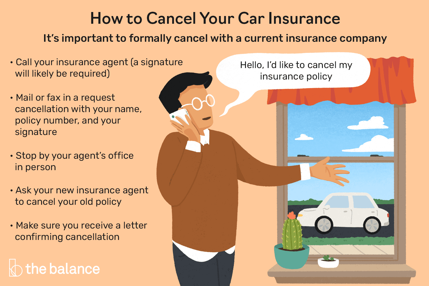 4 Ways to Cancel Your Auto Insurance Policy
