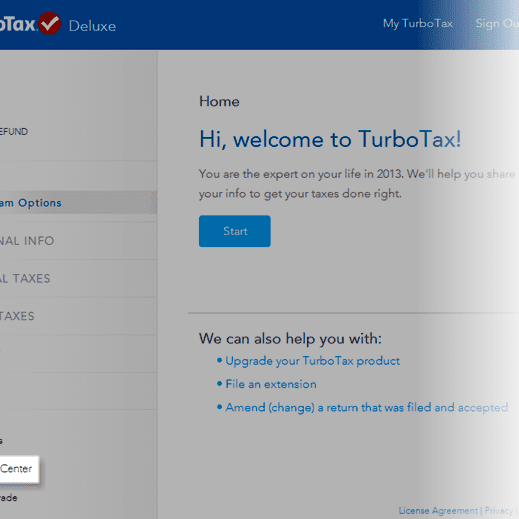 Backup Your Tax Return as a PDF in TurboTax