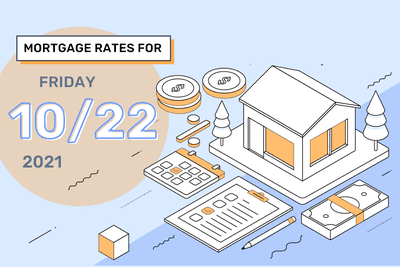 Mortgage Rates for Friday, October 22, 2021