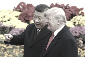 Xi Jinping and Trump