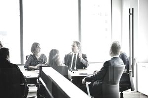 The board of a company discusses treasury stock and how it affects the bottom line.