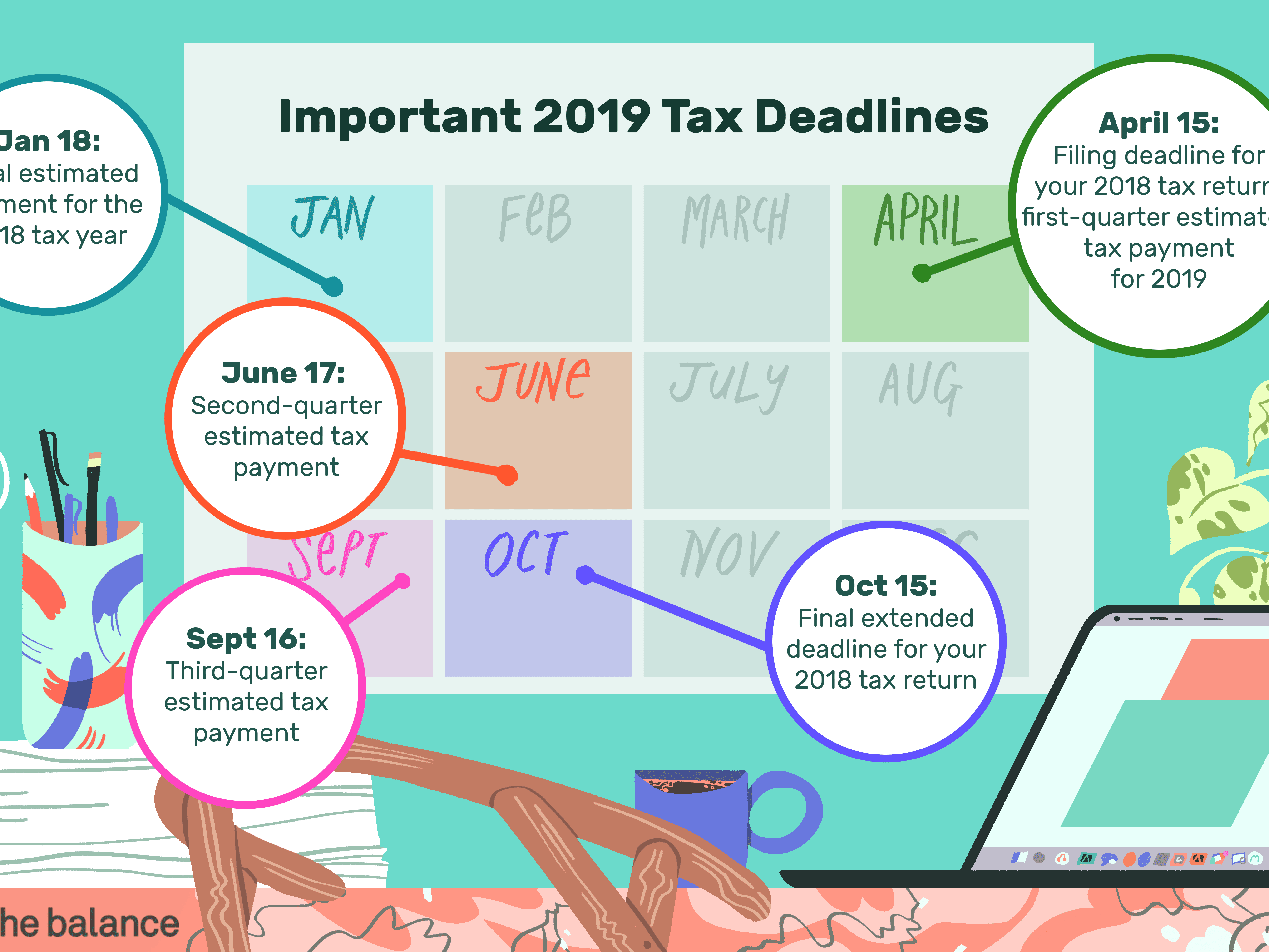 form 1040 due date  Federal Income Tax Deadlines in 15