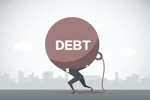 Debt supported by taxpayer