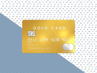 Mastercard Gold Card background