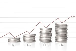 4 stacks of quarters_yields_12 months