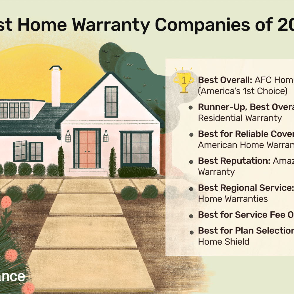 The 7 Best Home Warranty Companies Of 2021