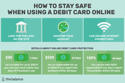 how to pay online with debit or credit cards safely