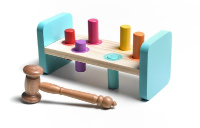 pegs and gavel