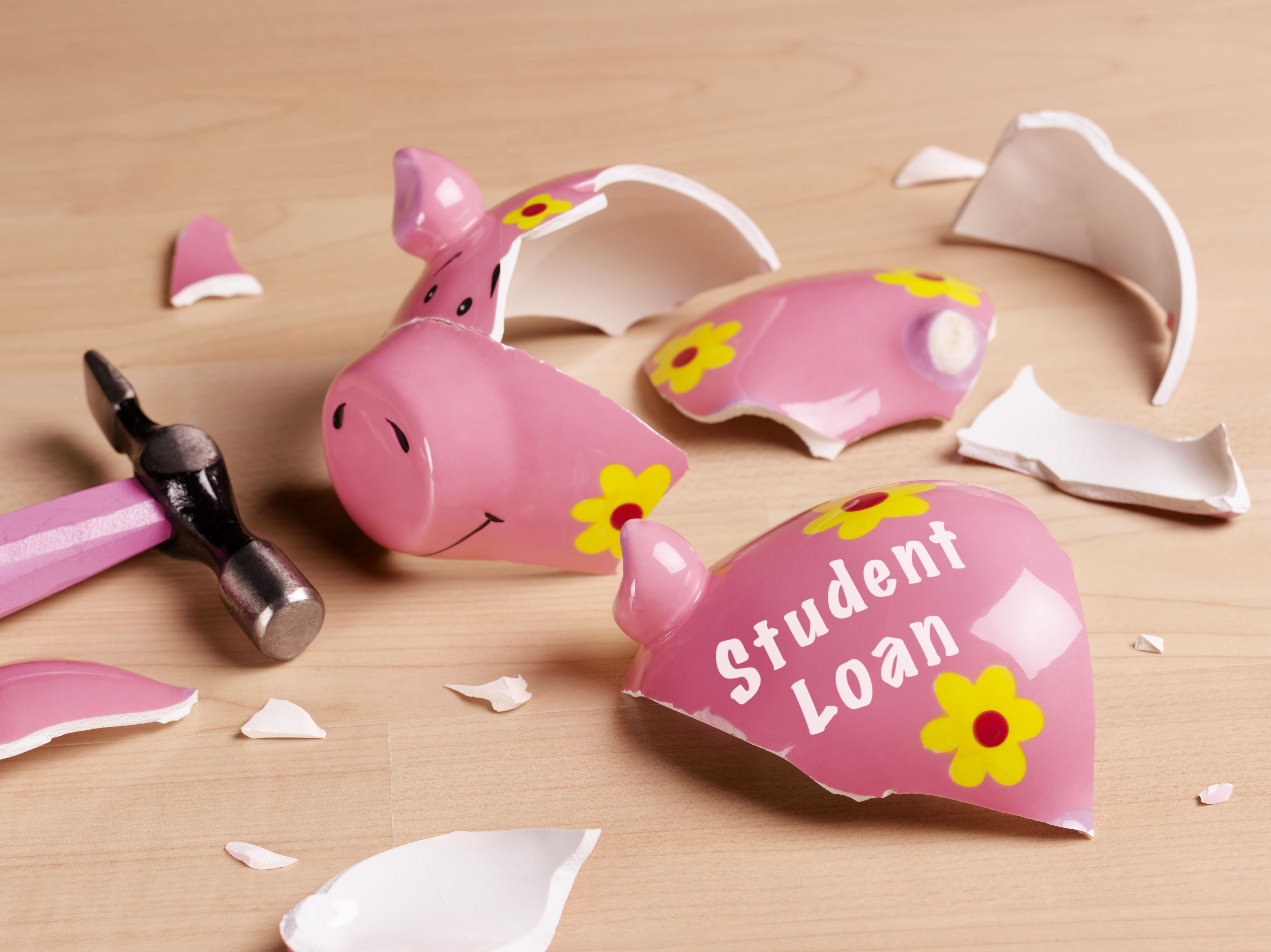 Student loan forgiveness when the borrower dies or is disabled.