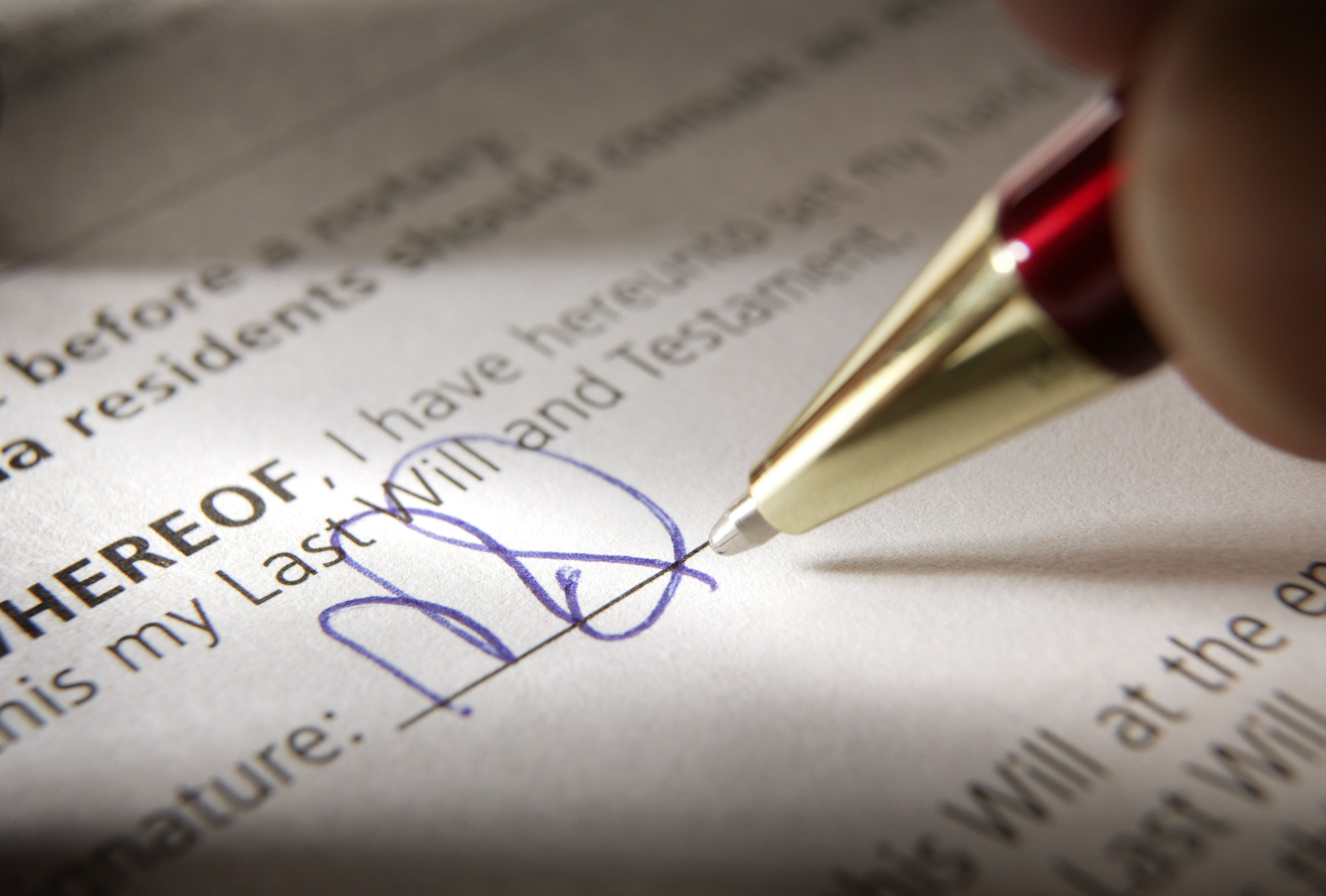 Legal Grounds For Contesting A Will