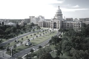 Historic South Grounds and Great Walk, Texas Capitol, Austin