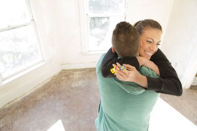 couple buying real estate