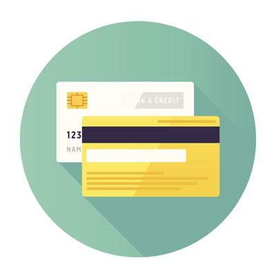 Icon of credit card