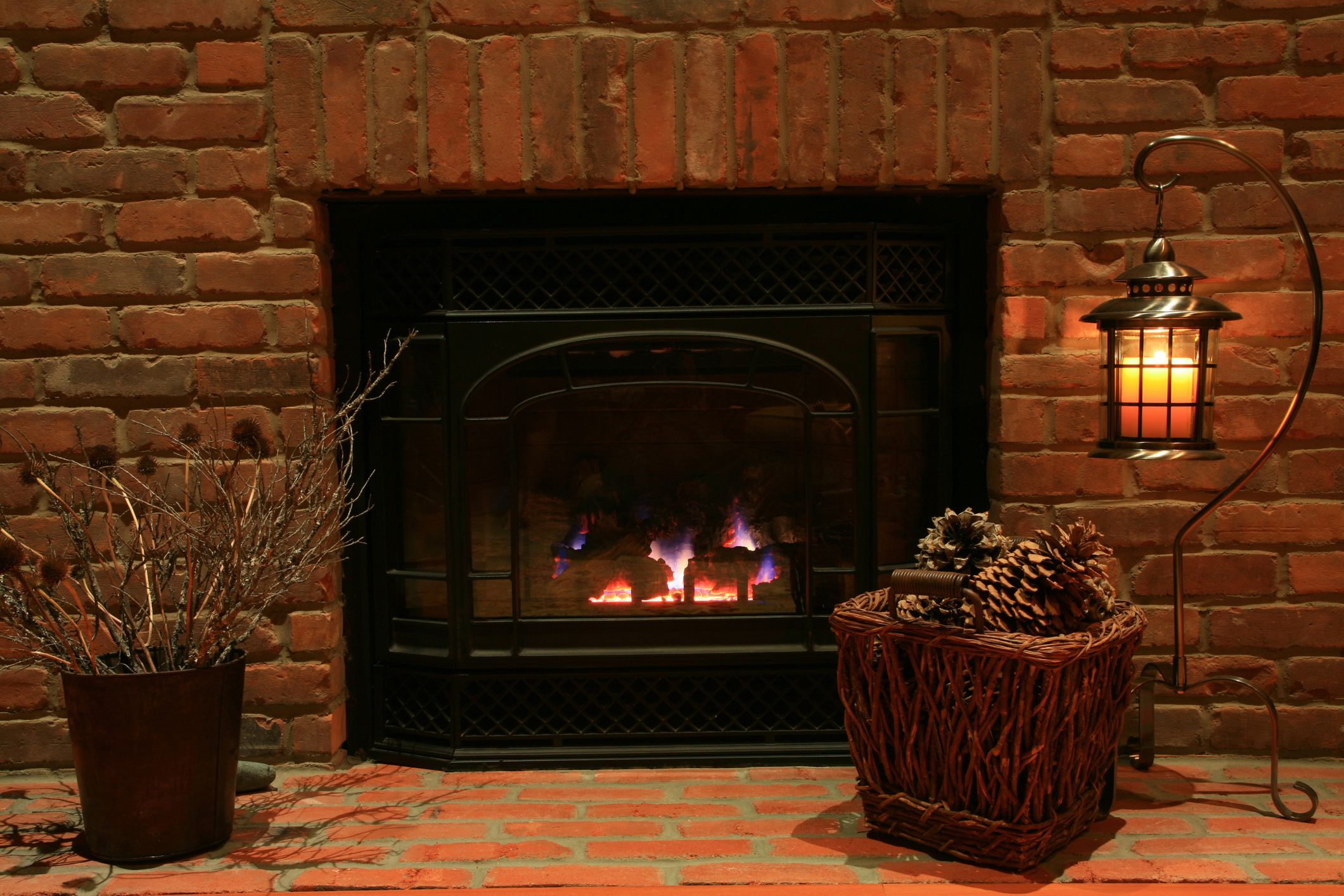 Outstanding Are Unvented Gas Log Fireplaces Right For Your Home Interior Design Ideas Ghosoteloinfo