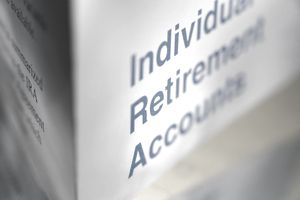 a document with Individual Retirement Account written on it