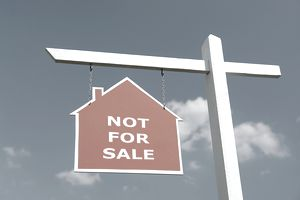 not for sale real estate sign