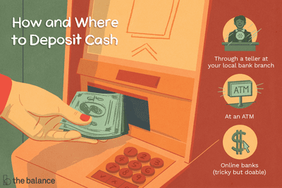 How and Where to Deposit Cash (Including Online Banks)
