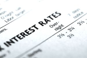Document listing interest rates