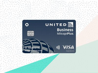 United Business Card with Background