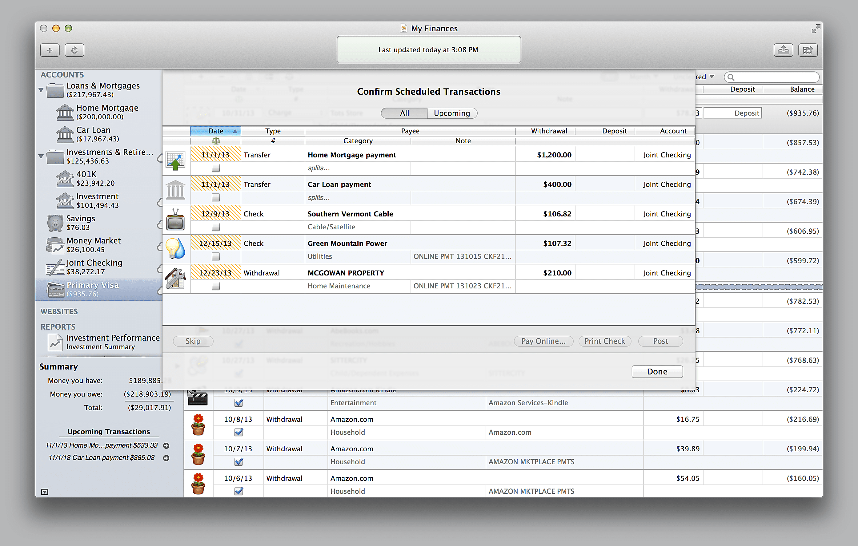 Banktivity 7 for Mac Released