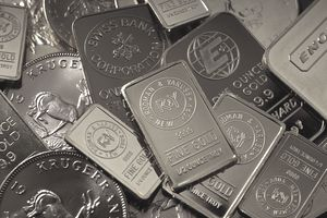Krugerrands and gold bars