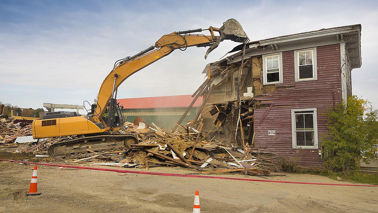 Tearing Down a House and Alternatives to Demolition