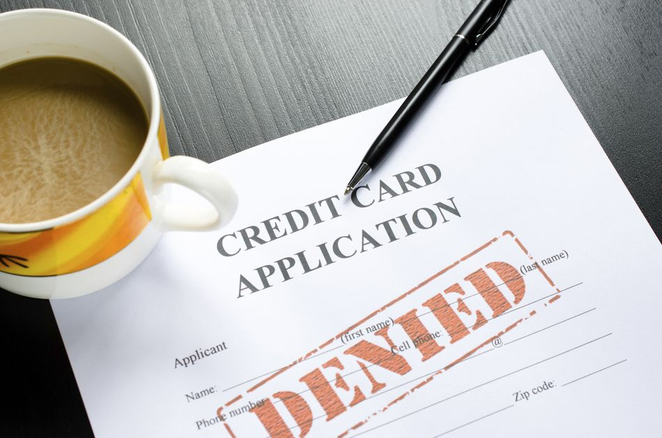 Denied credit card application