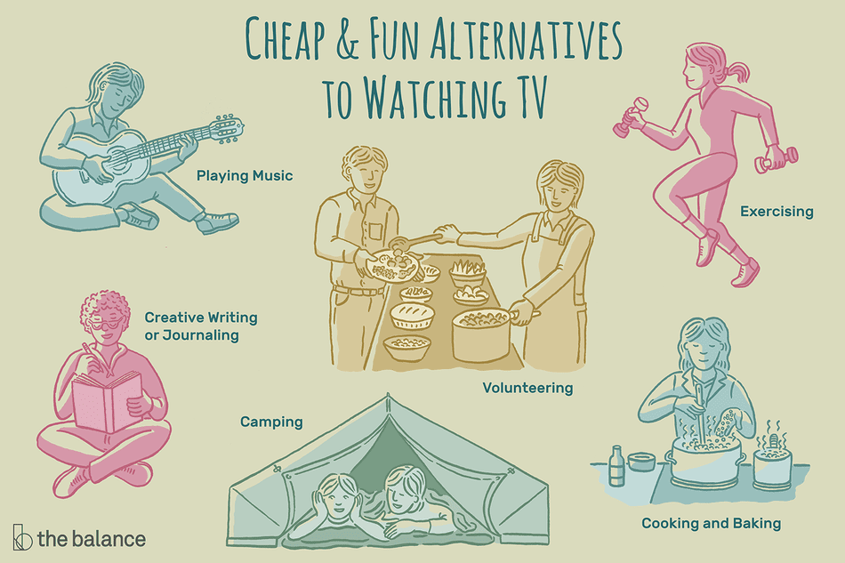 Cheap and fun alternatives to watching TV