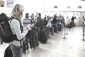 Cancelled travel plans