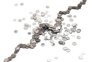 Pocket change representing types of annuities.