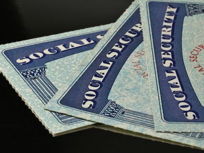 Close up of US Social Security Cards