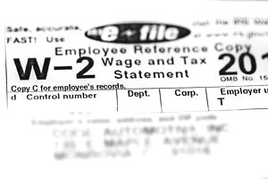 Form W-2, the annual wage and tax withholding statement