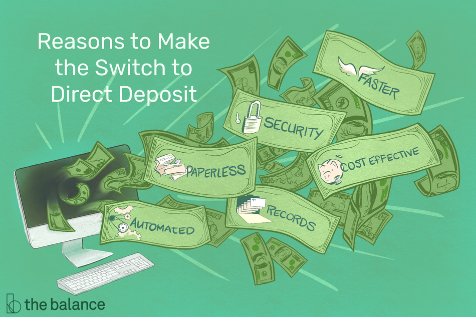 Reasons to Make the Switch to Direct Deposit
