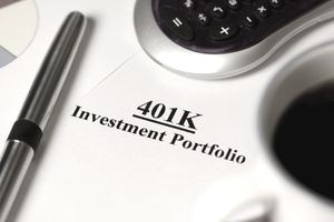 a 401(k) investment account