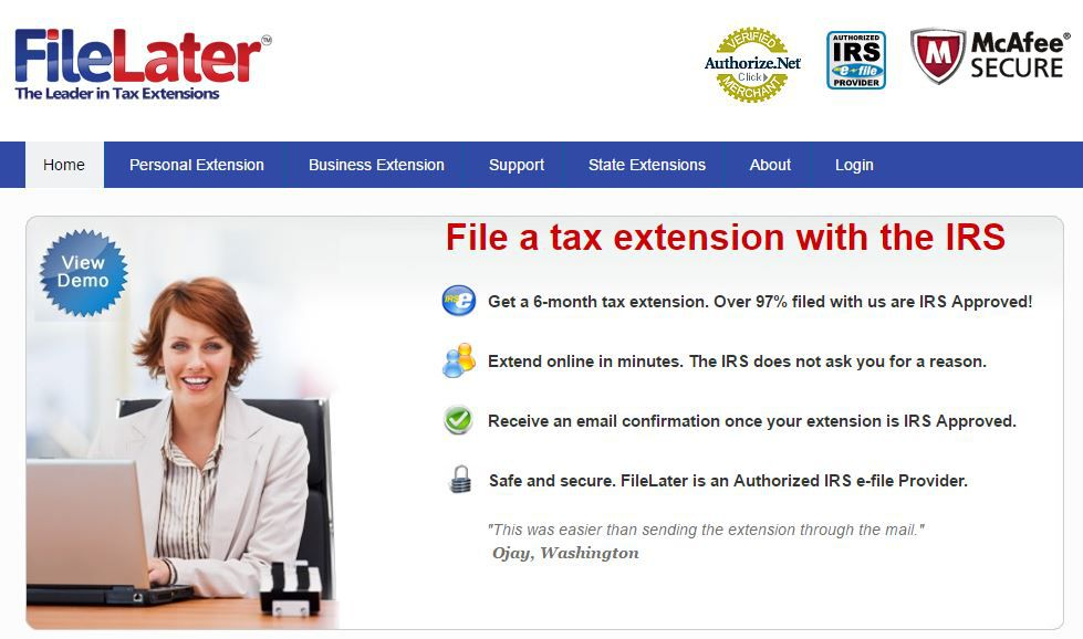 How To E File A Form 4868 Extension Online