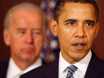 FY 2010 budget announcement with President Obama and VP Biden