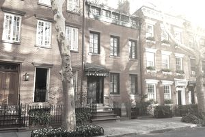 Brownstone homes that could be rented or bought.