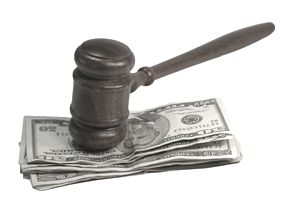 Bankruptcy filers pay a fee to file for court bankruptcy protection